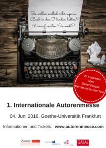 1. Internationale Autorenmesse-Freikarten